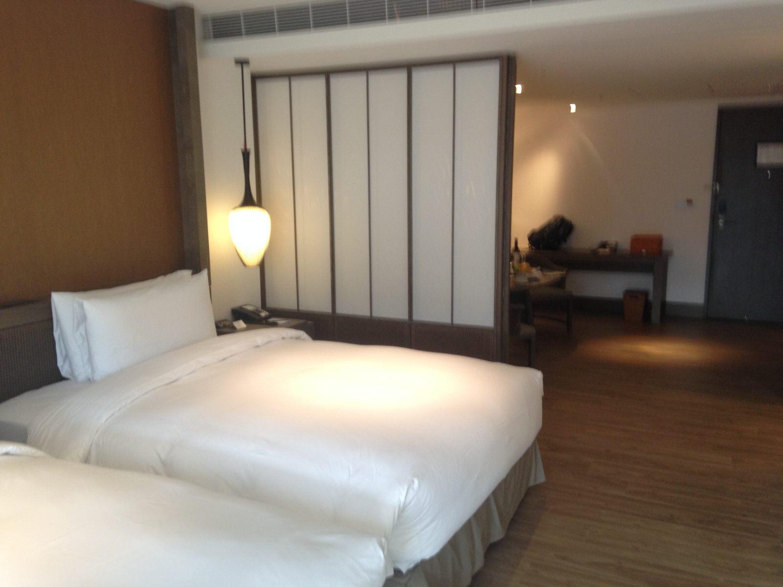 台南に新しくオープンした「シルクスプレイスホテル」に泊まってみた。台南晶英酒店