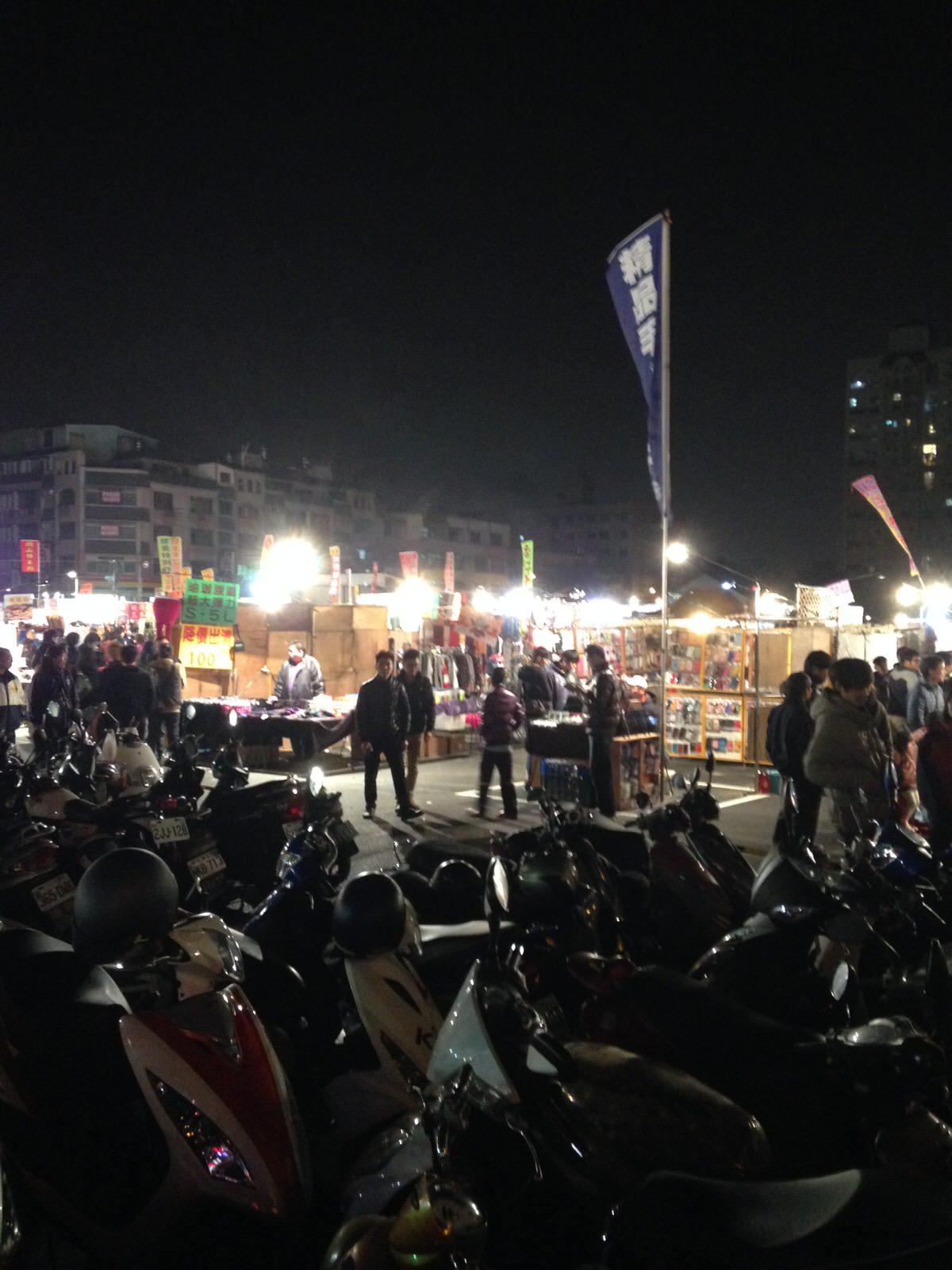 台南に永康観光夜市が新しく誕生!(永康觀光夜市)