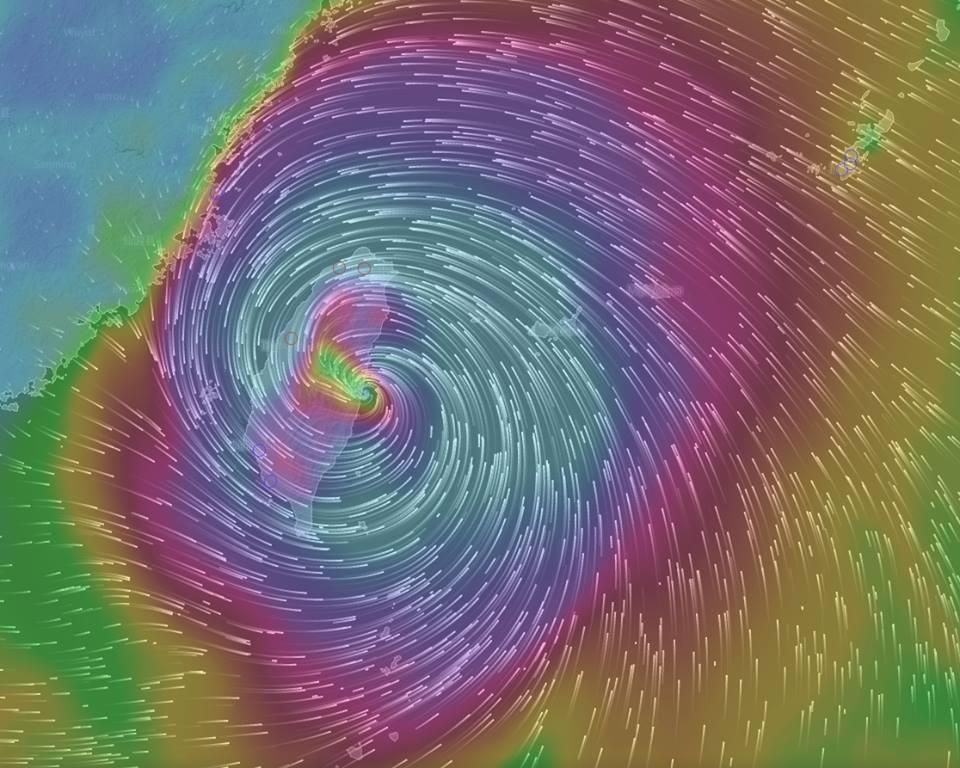 因為颱風今日休店