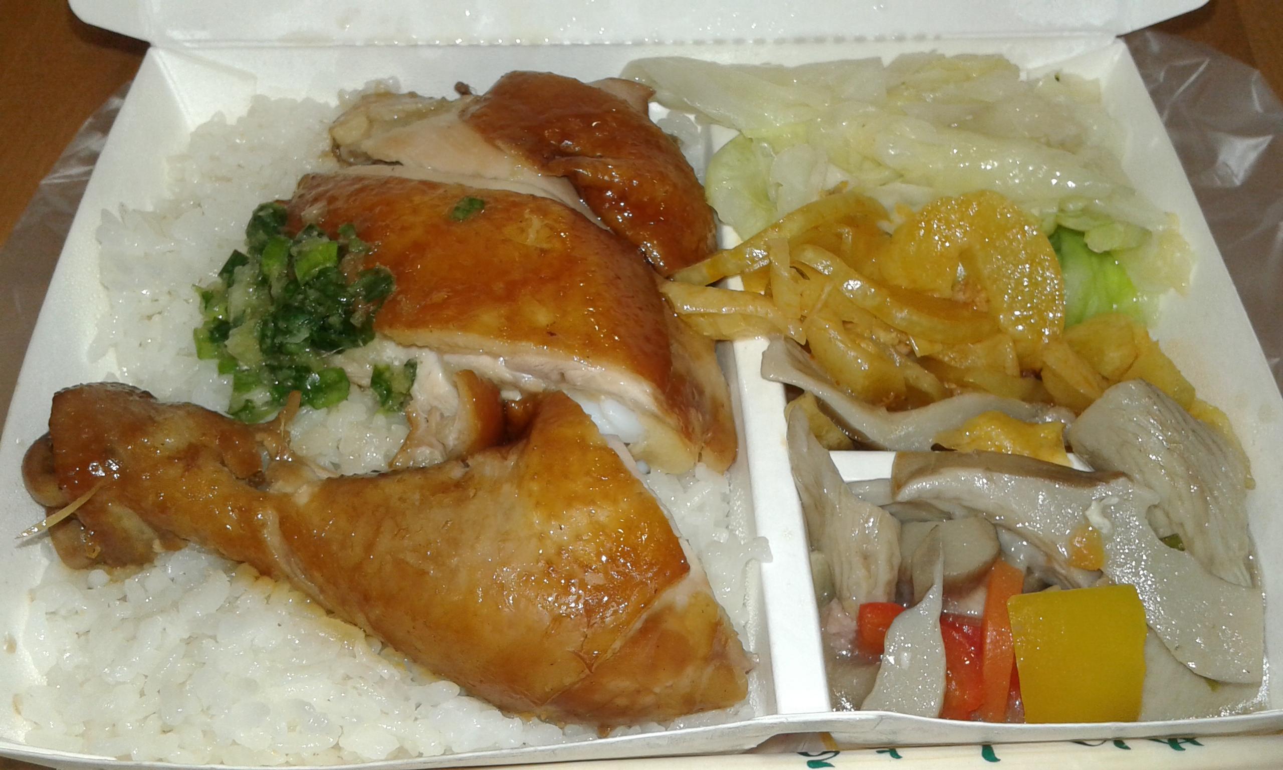 肉魚と野菜のバランスがいい♪民權路で大人気のお弁当屋さん[お店情報]