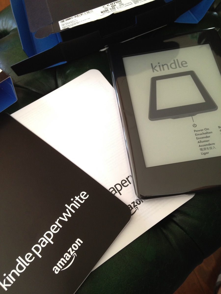 住在海外的話,推薦一定要入手的「kindle paperwhite」!!