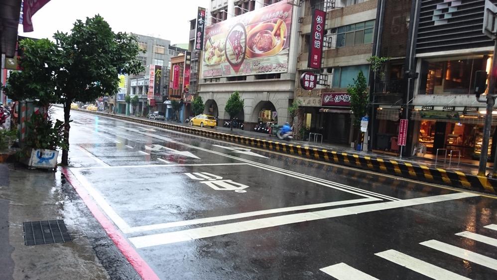 颱風天的台灣