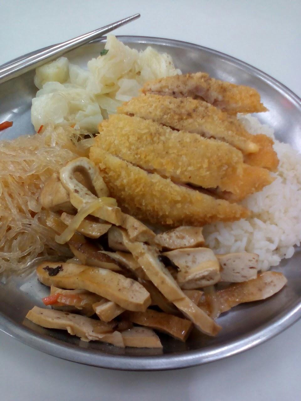 日本の定食、台湾の定食   日本的套餐、台灣的套餐