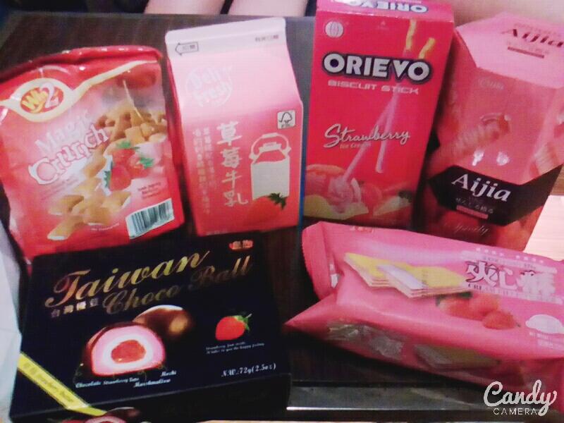 台湾と日本の「イチゴ味」  台灣與日本的「草莓口味」